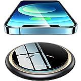 VANMASS Wireless Charger Ladepad [15W Ultra Sicher & Schnellladung] Qi Ladestation Kabellos...