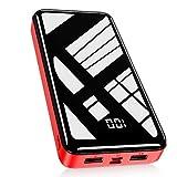 Bextoo powerbank 30000mah Große Kapazität Externe Akkus LCD Display Batterie Pack 2 Eingängen 2...