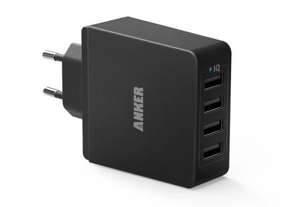 Anker 36W 5V / 7.2A 4 Port USB Ladegerät