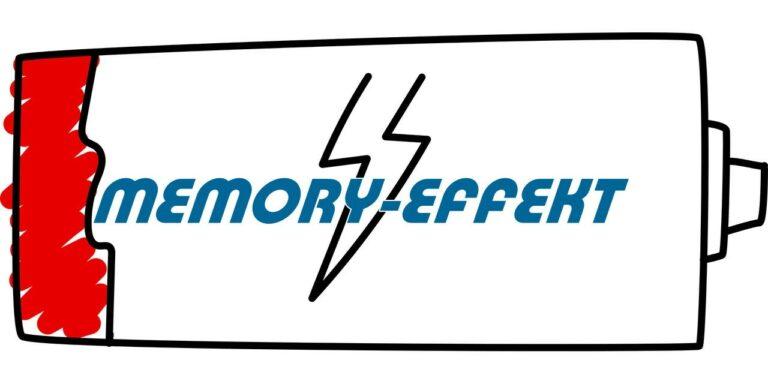 Memory-Effekt beim Akku